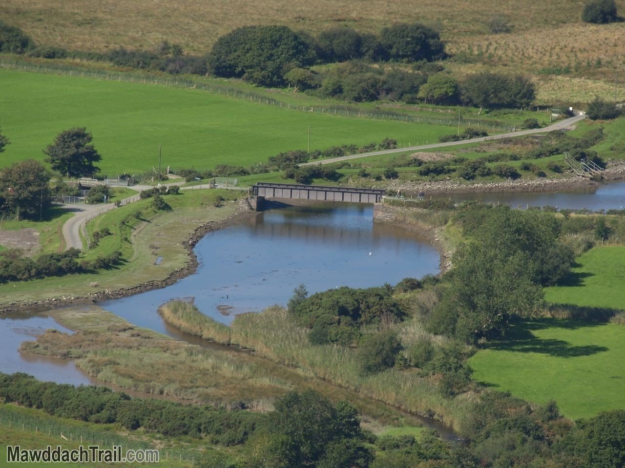 The Old Railway Bridge at Arthog