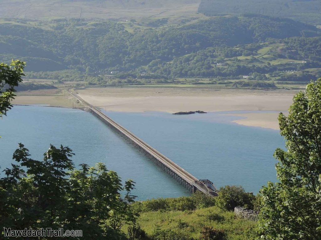 Barmouth Bridge from the Hills