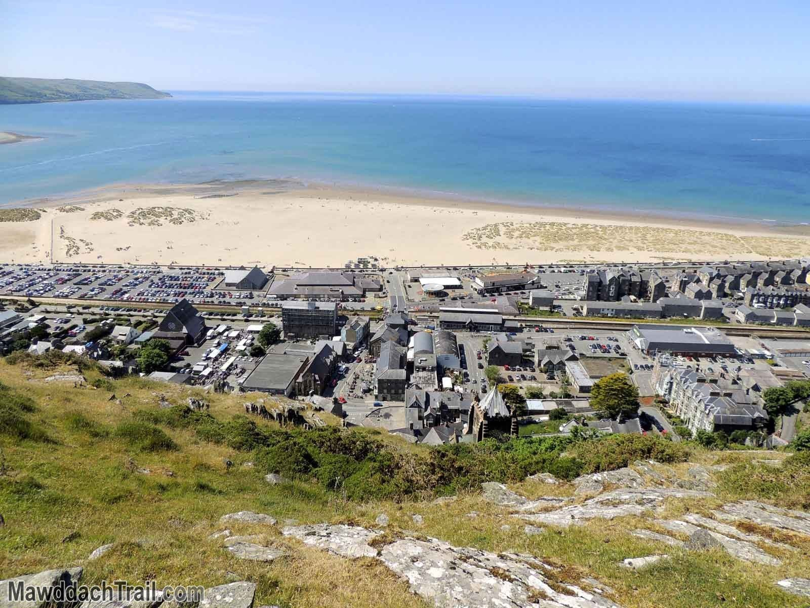 Barmouth from the Hills
