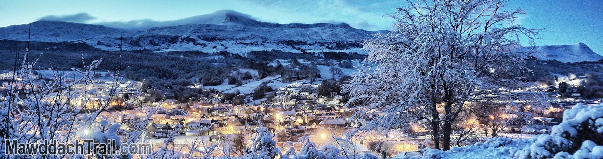 Dolgellau on a Snowy Morning