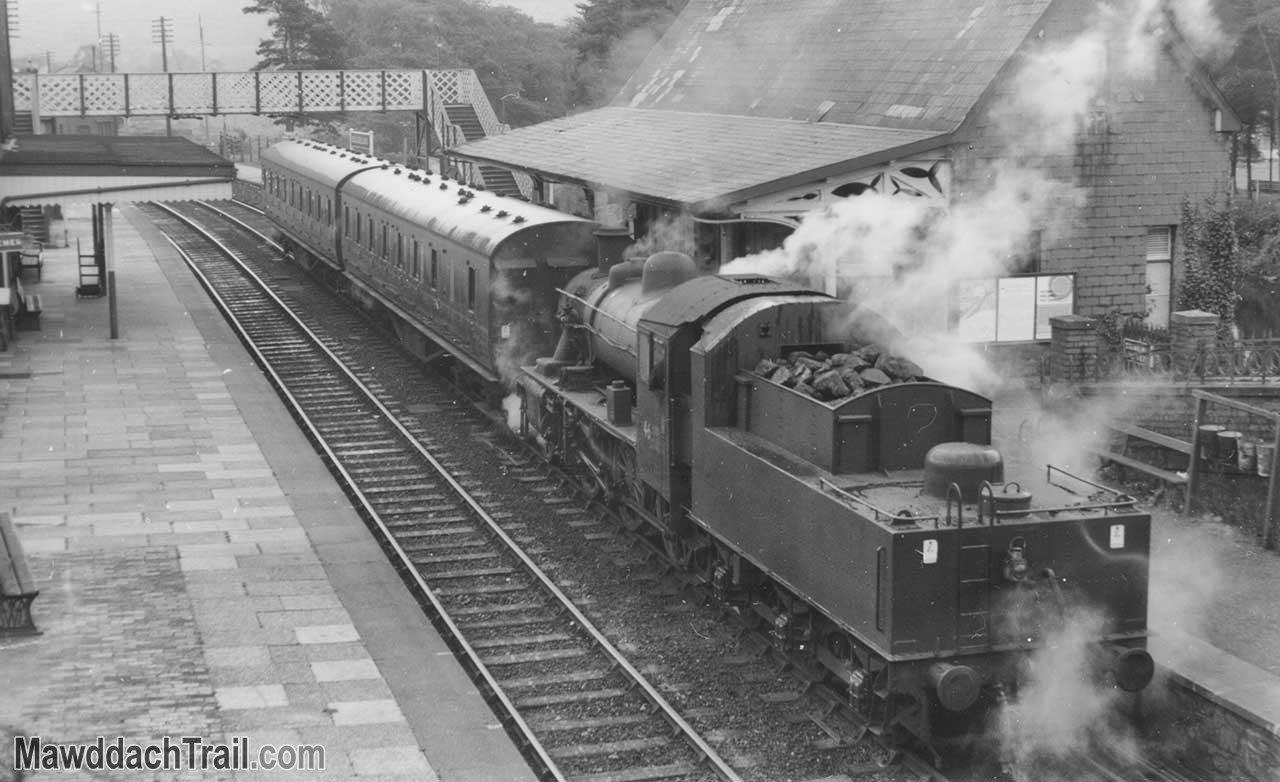 Dolgellau Railway Station in 1963