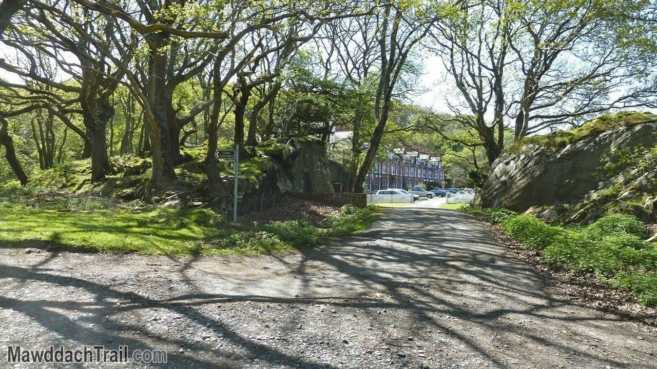 The First Glimpse of Mawddach Crescent