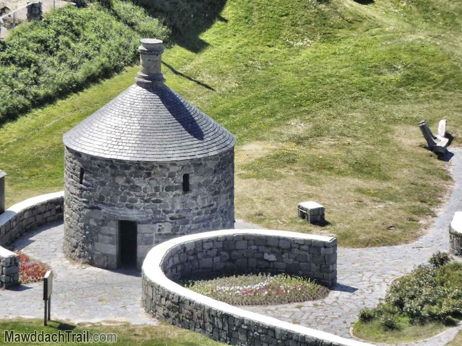 The Barmouth Round House, from The Hills Above