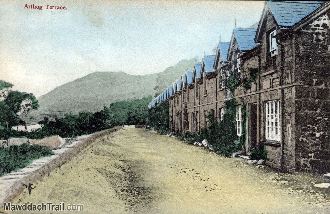 Arthog Terrace Postcard