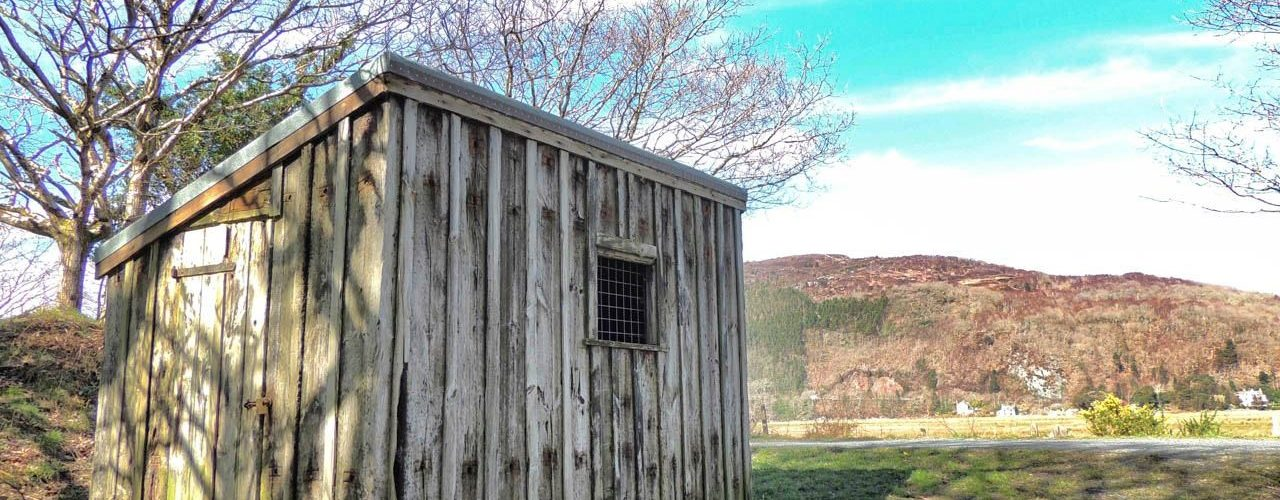 A Workmans Shed on The Mawddach Trail