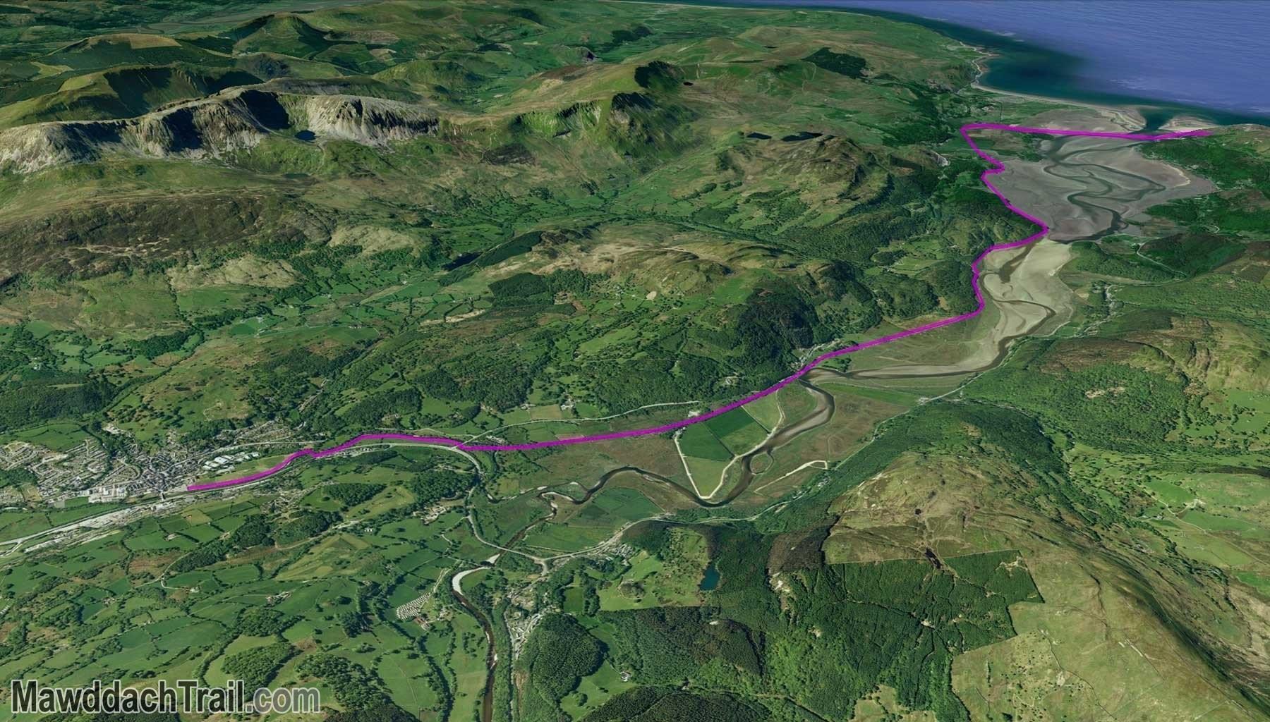 The Mawddach Trail - Dolgellau to Barmouth