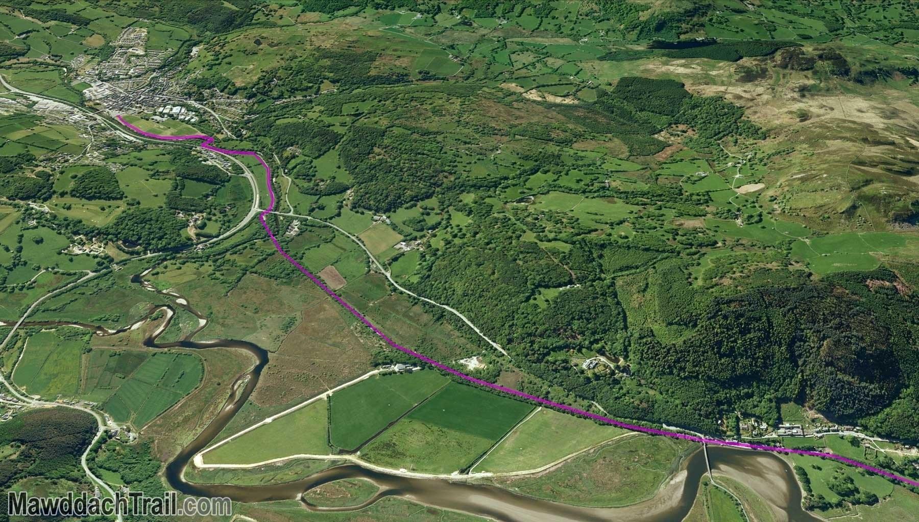 The Mawddach Trail - Dolgellau to Penmaenpool