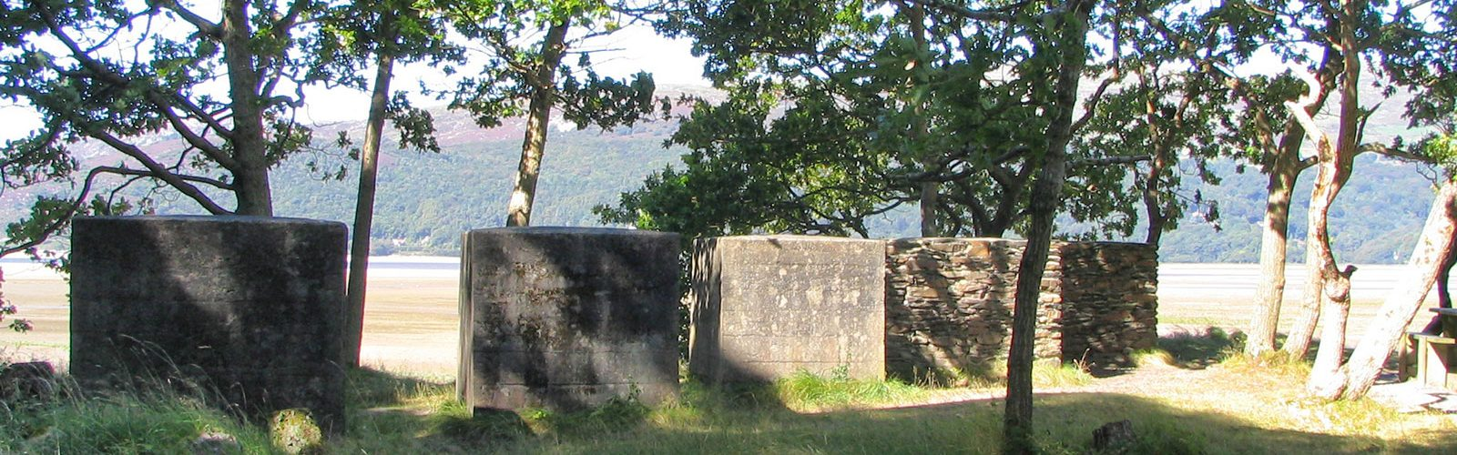 Anti-Tank Blocks on The Mawddach Trai