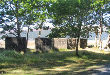 Anti-Tank Blocks on The Mawddach Trai