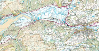 OS Explorer Map - Mawddach Trail (Start Section)