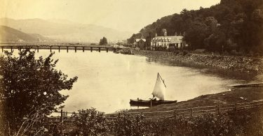 An Albumen Photograph of Penmaenpool Bridge from May 1892