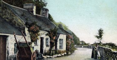 Arthog Cottage Postcard