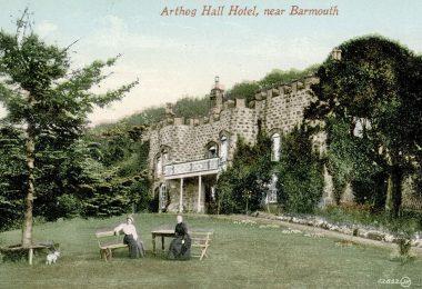 Arthog Hall Hotel Postcard