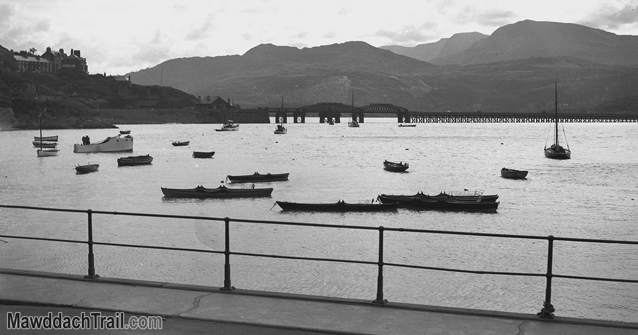 Barmouth Harbour in the 1930s