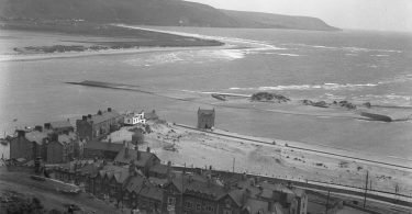 Barmouth from the Hills in the 1930s