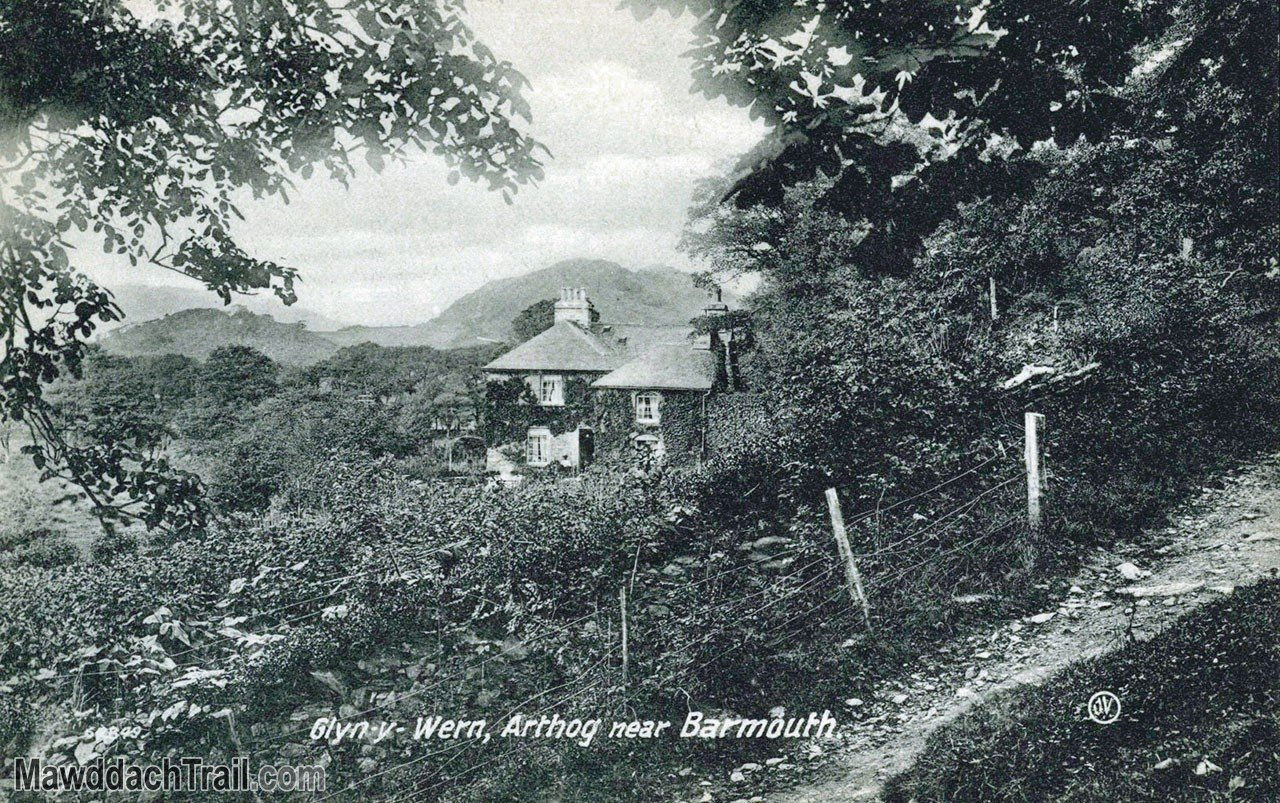 Glan-y-Wern, Arthog Postcard
