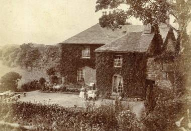 Photograph of Glan-y-Wern, Arthog in the 1880s